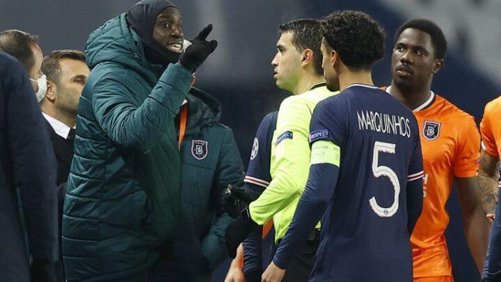 Champions League: jugadores del PSG y Basaksehir abandonaron el partido por un insulto racista del cuarto árbitro