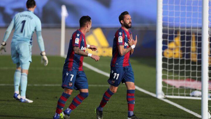 El Madrid cayó en casa ante el Levante