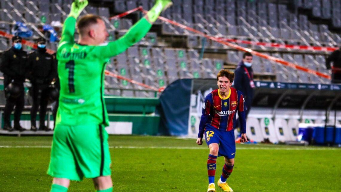 Barcelona derrotó en penales a la Real Sociedad y pasó a la final de la Supercopa de España