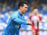 VIDEO: Hirving Lozano marcó en la goleada del Napoli ante la Fiorentina