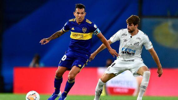Boca Juniors y Santos igualaron a cero en las Semifinales de la Libertadores