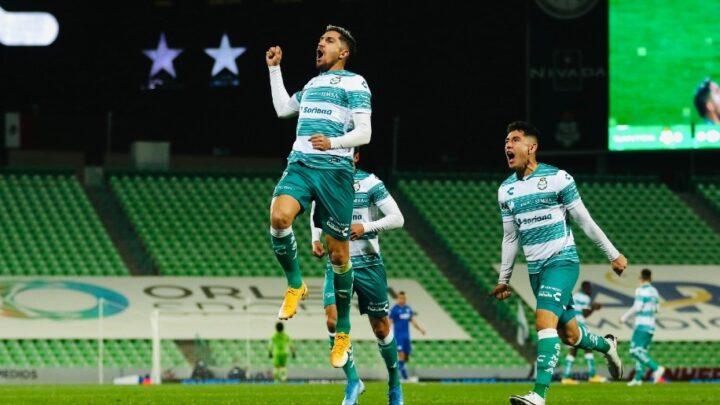Santos se impuso por la mínima a Cruz Azul