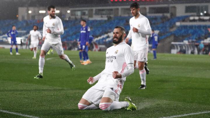 El Madrid derrotó al Getafe en partido pendiente