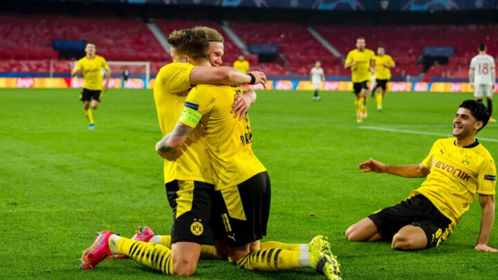 El Dortmund ganó en Sevilla