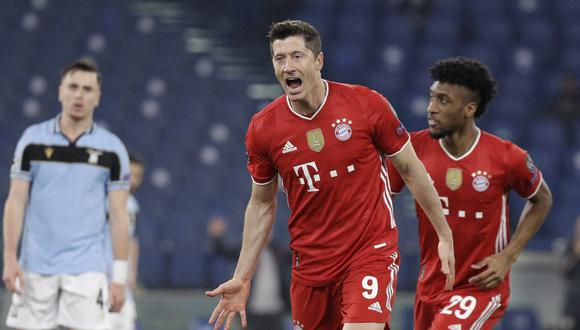 El Bayern goleó al Lazio