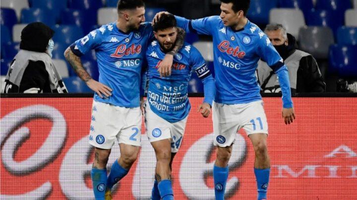 Napoli derrotó a la Juventus