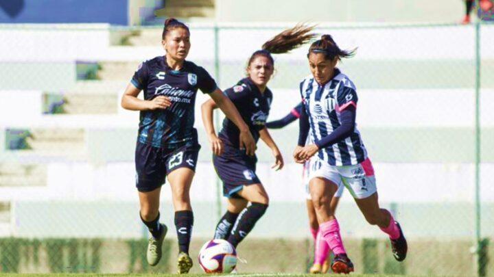 Rayadas derrotó 2-0 a Gallos Femenil