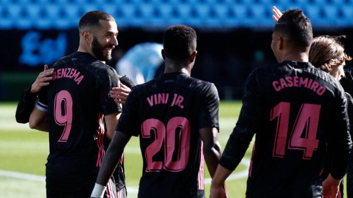 Real Madrid ganó en su visita al Celta