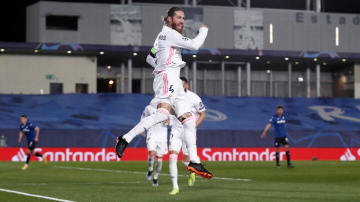 El Real Madrid avanzó a los cuartos de final de la Champions