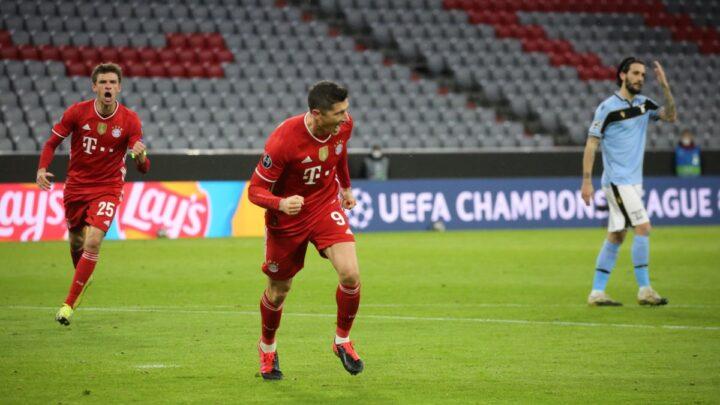 El Bayern selló su pase a cuartos de final en la Champions