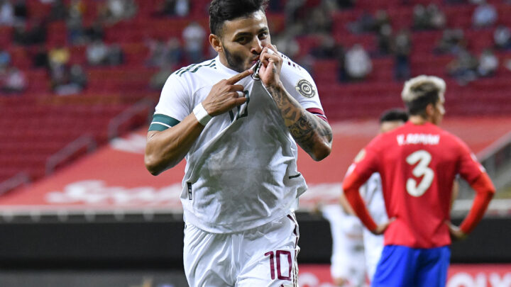 México goleó 3-0 a Costa Rica en el Preolímpico y avanzó a la siguiente ronda