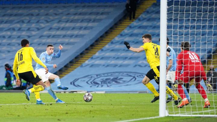 El City derrotó 2-1 al Dortmund