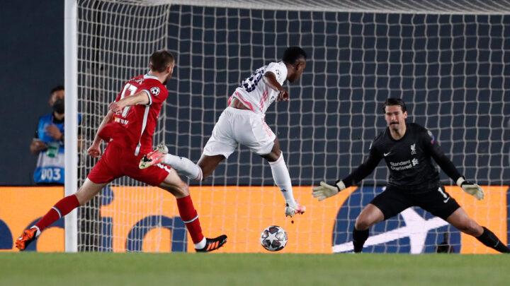 Vinicius, la estrella del Madrid en la victoria ante el Liverpool