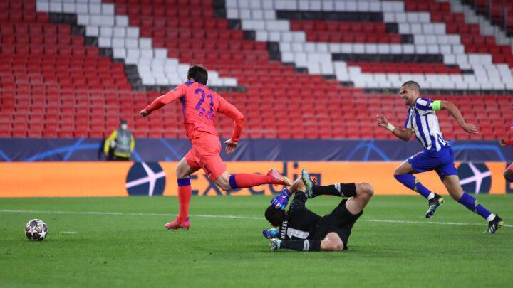 Chelsea derrotó 0-2 al Porto