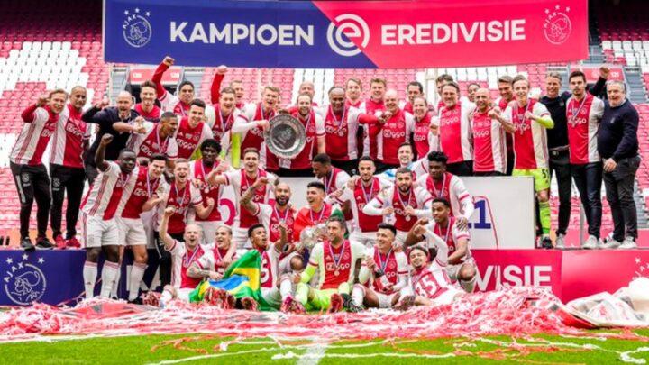 Edson Álvarez y el Ajax conquistan la Eredivisie