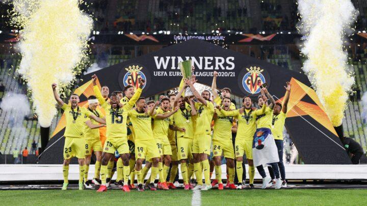 El Villarreal es campeón de la Europa League