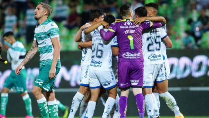 Santos y Puebla empataron sin anotaciones