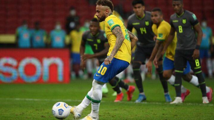 Brasil se impuso a Ecuador