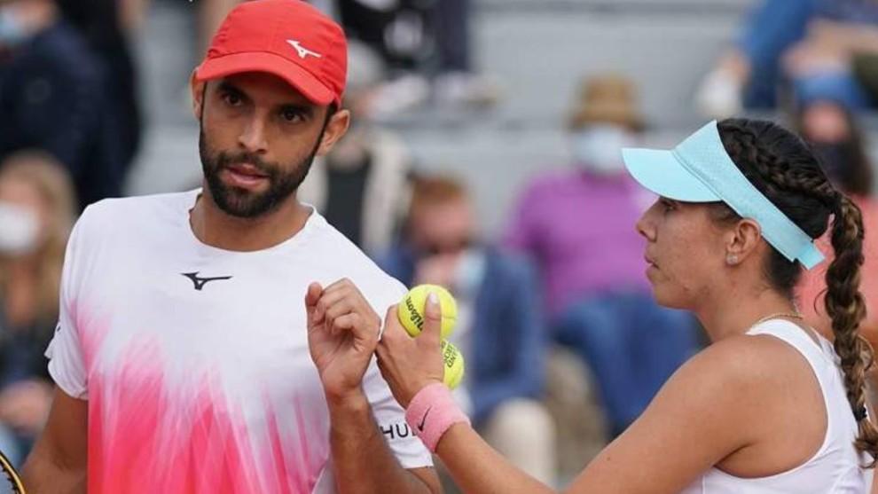 Giuliana Olmos avanzó a semifinales del dobles mixto en Roland Garros