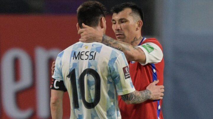 Argentina y Chile igualaron a uno