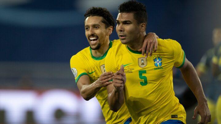 Brasil remontó y ganó a Colombia