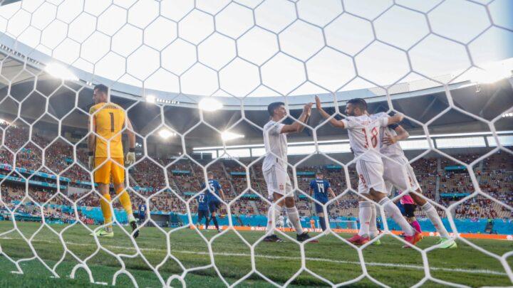 España goleó a Eslovaquia y enfrentará a Croacia en Octavos de la Euro