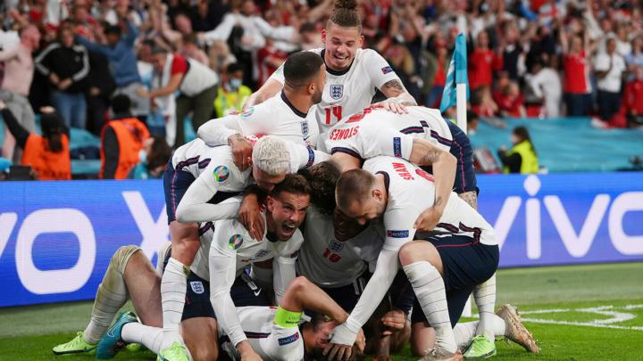 Inglaterra es finalista de la Eurocopa