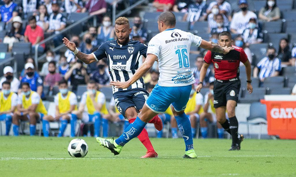 Puebla le sacó el empate a Rayados
