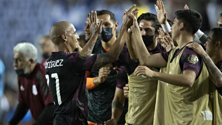 México derrotó por la mínima a El Salvador