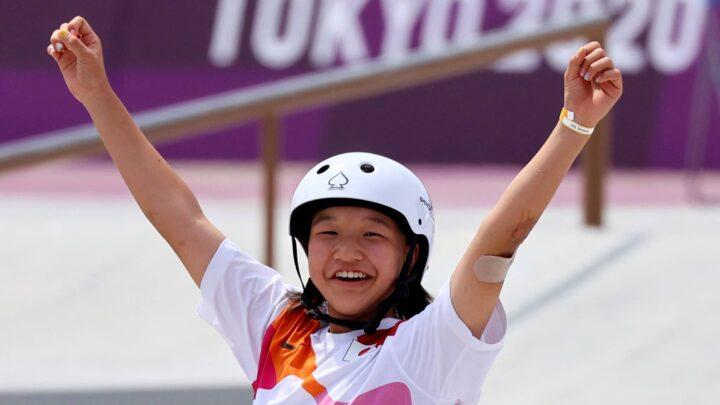 Tokio 2020: La niña de 13 años que hizo historia en Juegos Olímpicos