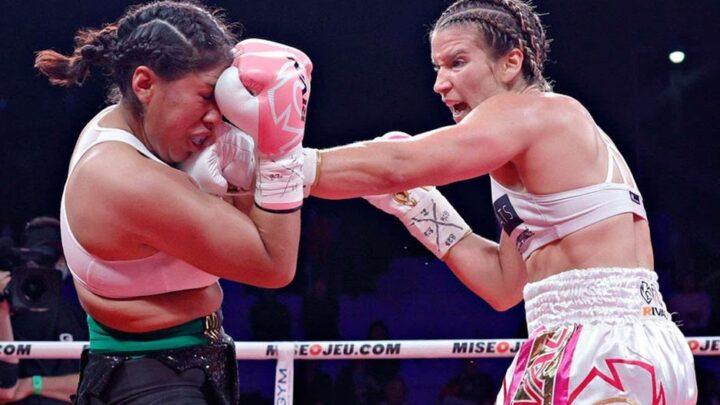 Boxeadora mexicana se encuentra en estado crítico tras durísimo golpe