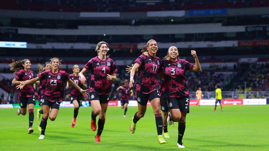El TRI femenil derrotó a Colombia