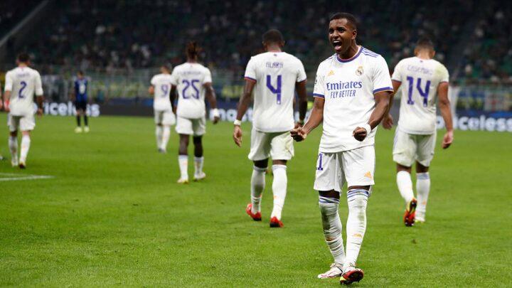 El Madrid se impuso a Inter