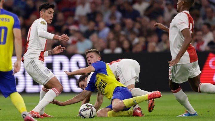 Goleada histórica del Ajax
