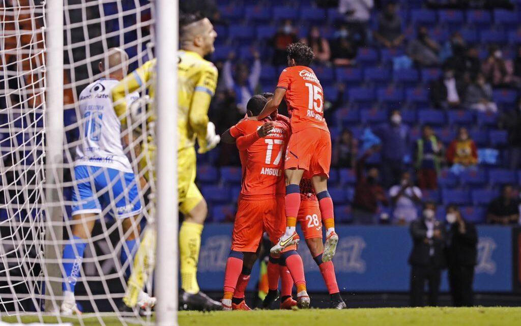 El campeón empató en Puebla