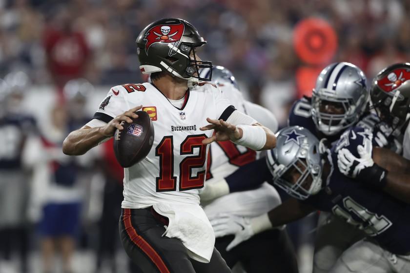 Tom Brady y Tampa Bay derrotaron a Dallas
