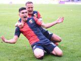 Johan Vásquez marcó en su debut con el Genoa
