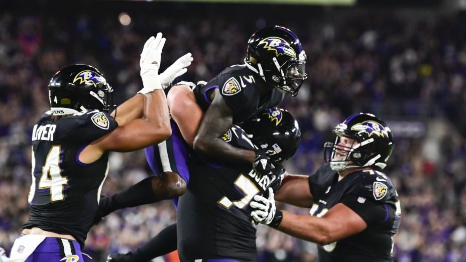 Los Ravens vencieron a los Colts
