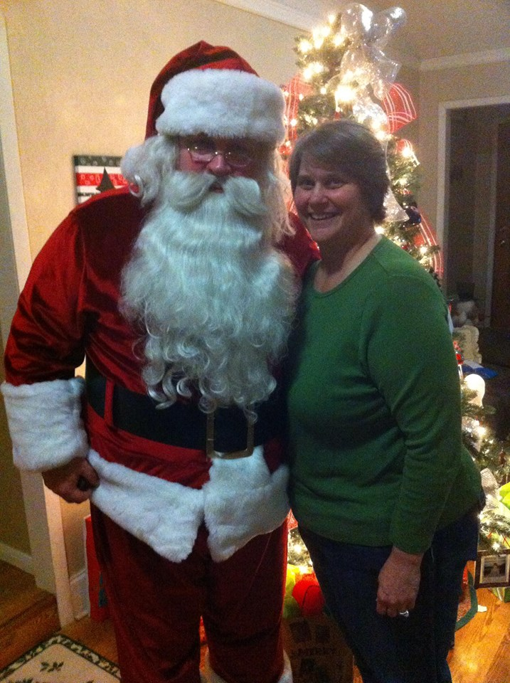 Santa Claus in Waco with Mrs Claus