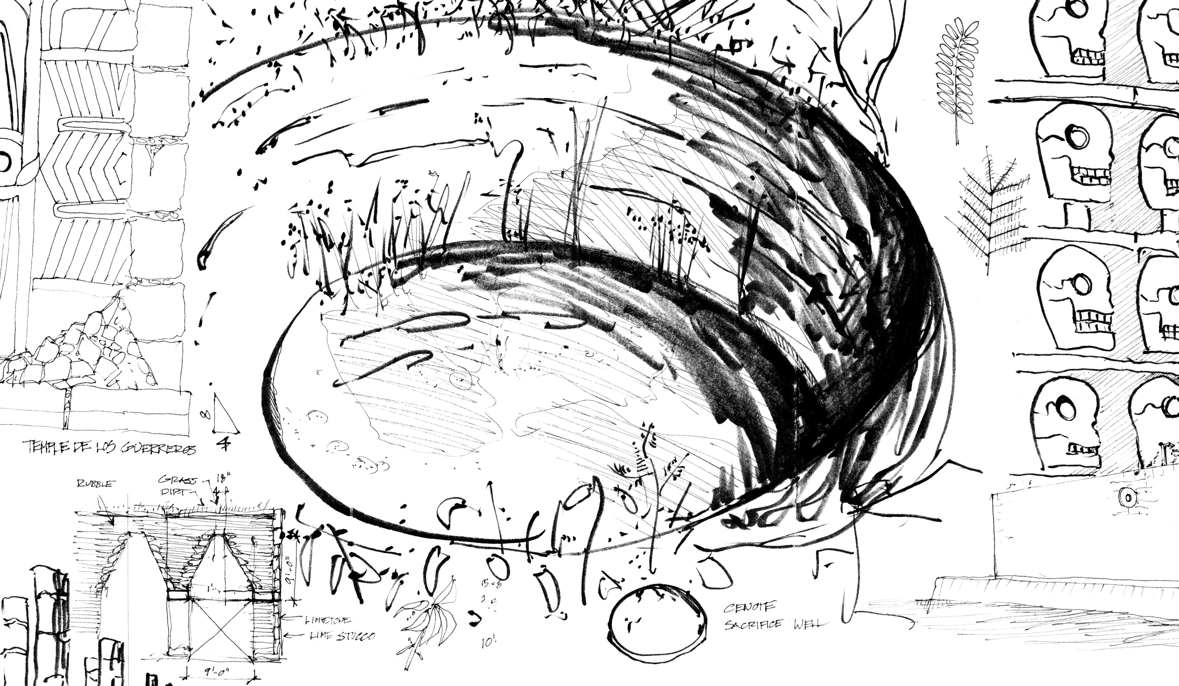 "8.3-8.5 Mayan Cenote ""Well of Sacrifice"""