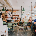 living with social anxiety photo of coffee shop with people