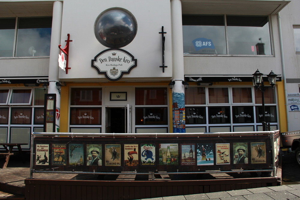 Den Danske Kro, local bar in Reykjavík, Iceland
