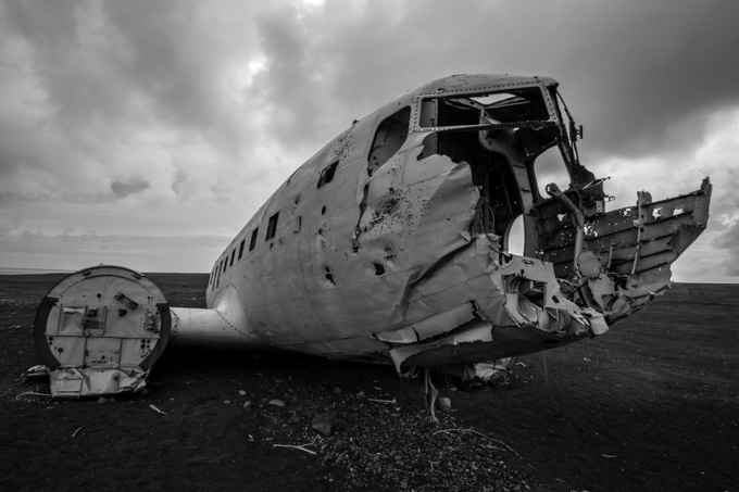 US Navy Plane Wreck in Iceland