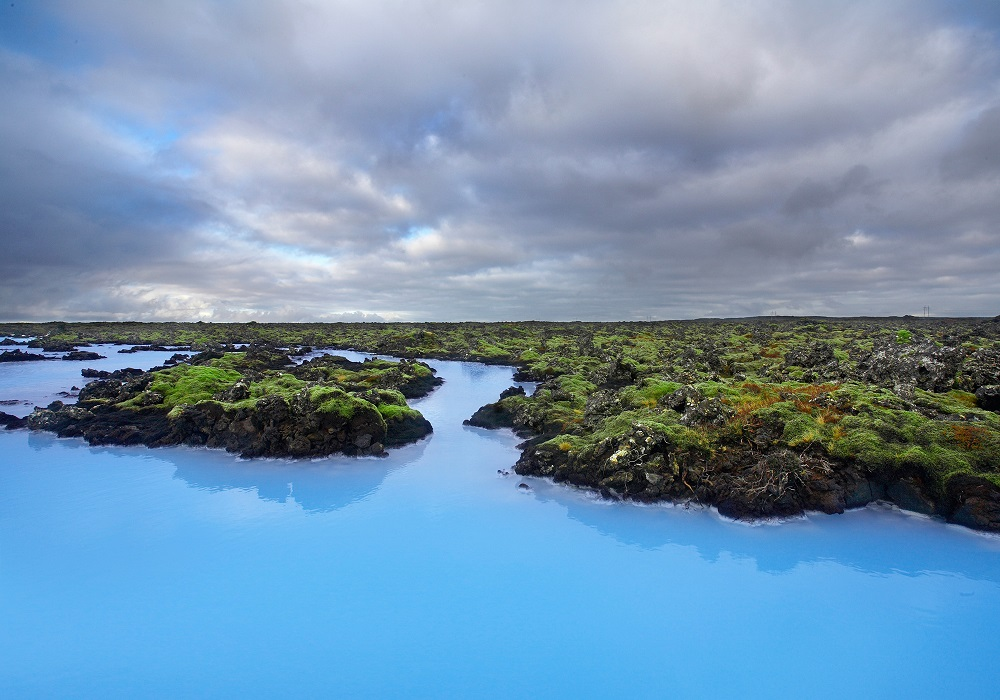 My favorite spot in Iceland, the Blue Lagoon