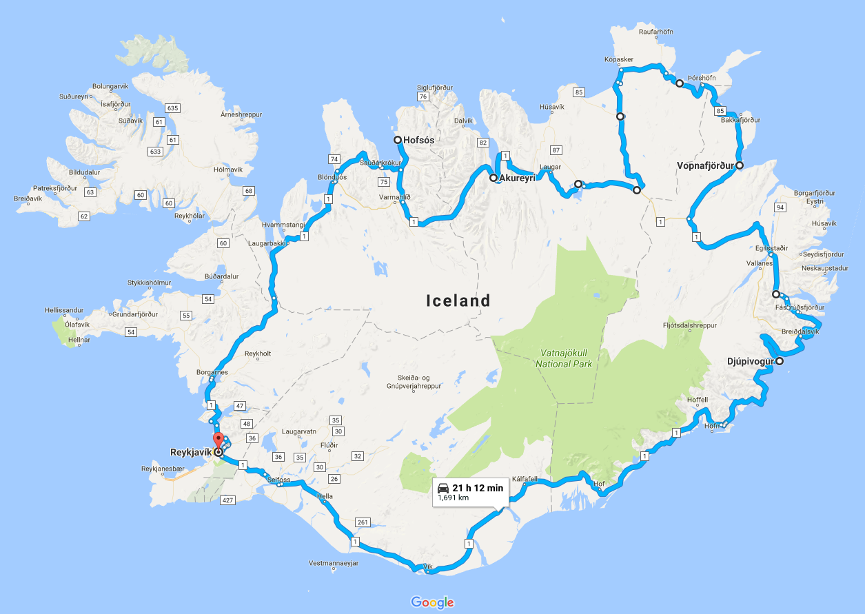 Road Trip Around Iceland – Summer
