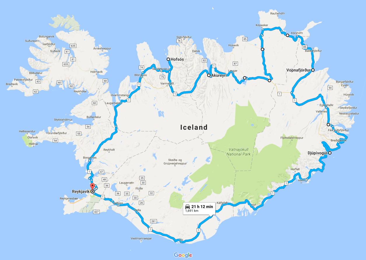Road Trip Around Iceland – Summer