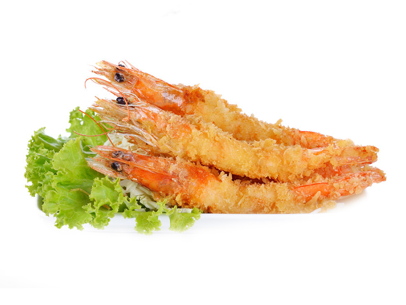 Breaded Tiger Prawn with head Image