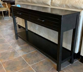 Ebony Sofa Table