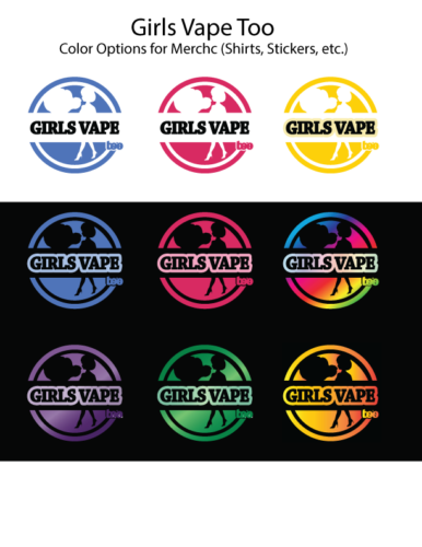 GVT Color Options for Merch