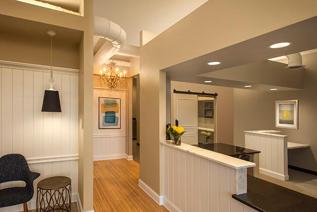 Eaton Family Dental Interior